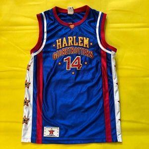 Harlem Globetrotters signed jersey #14 Handles
